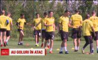 """Bratu, gata sa revina pe teren in atacul lui Dinamo alaturi de Danciulescu: """"Eu ma mentin bine, Danciu e in forma .. de cozonac!"""" :)"""
