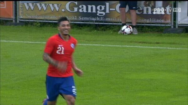 Romania 1-2 Chile. Gafe uriase in apararea nationalei, gol Reyes