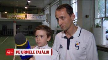 Covaliu isi antreneaza fiul pentru Olimpiada din 2024! Micul Covaliu tinteste aurul la Paris