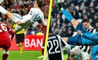 """""""Foarfeca"""" din finala cu Liverpool a prins cu greu TOP 3! Nici executia lui Ronaldo nu i-a impresionat pe fani! GOLUL SEZONULUI in UEFA Champions League"""