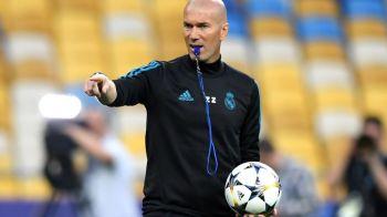 Mesajul trimis de Zidane pe grupul de WhatsApp al jucatorilor Realului! Unui singur fotbalist i-a dat personal vestea