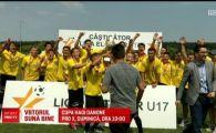 Viitorul, campioana Romaniei la U17, dupa o victorie la penalty-uri in fata Craiovei