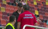 Lacatus a sarit la un suporter pe National Arena, inaintea meciului dintre CSA Steaua si Rapid! Cum s-a incheiat conflictul