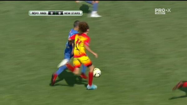 Cupa Hagi, golul de 1-0