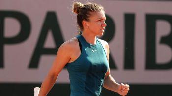 SIMONA HALEP - ELISE MERTENS Roland Garros   Simona se califica in sferturi dupa un meci PERFECT in care a distrus-o pe Mertens in mai putin de o ora