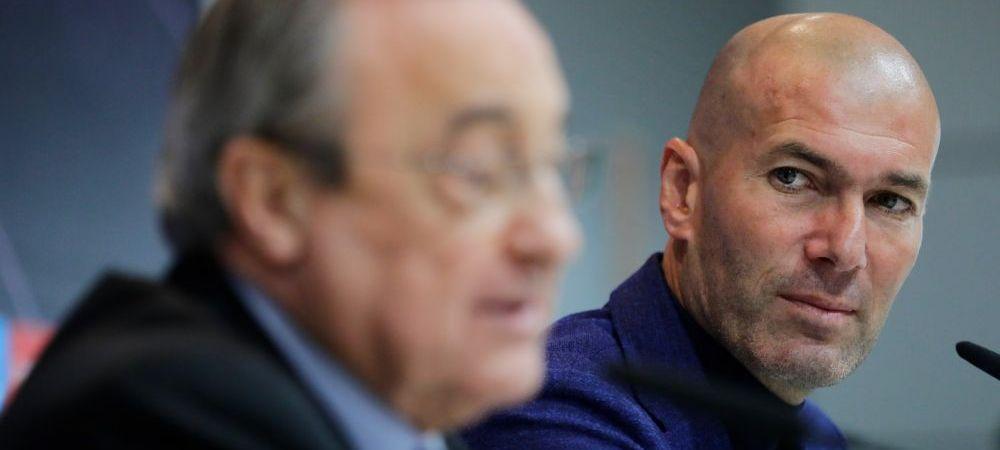 Varianta SOC pe care a vrut-o Florentino Perez pentru inlocuirea lui Zidane! Ce antrenor a REFUZAT-O pe Real Madrid