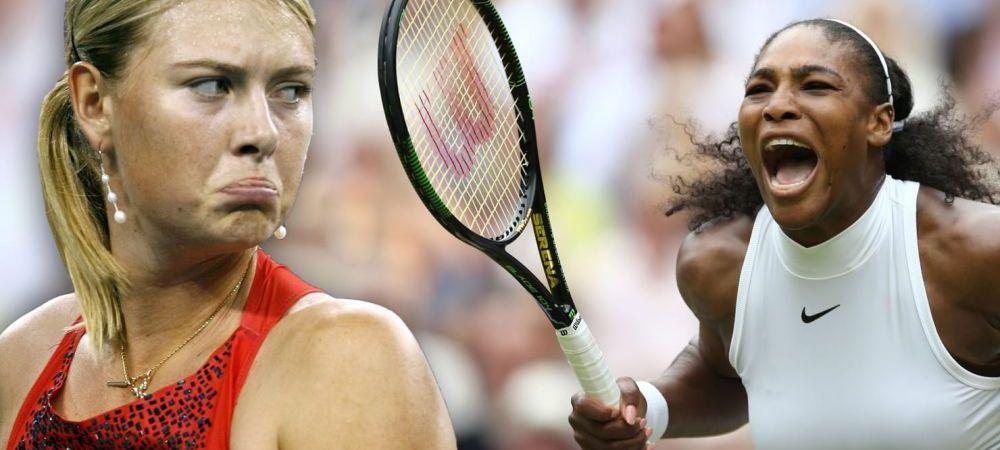"""Serena Williams vs Maria Sharapova, la Roland Garros 2018! Antrenorul Serenei o distruge pe rusoaica: """"Serena e mai buna!"""""""