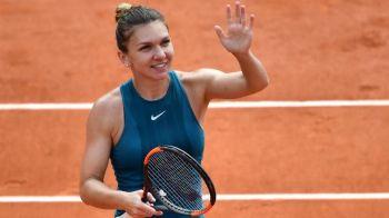"""""""Simona, prea buna pentru Mertens! Prestatie SUBLIMA"""" Reactii in toata lumea dupa calificarea Simonei in sferturi la Roland Garros!"""