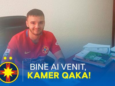"""""""Cel mai bun lucru care mi se putea intampla! Ii multumesc lui Dumnezeu ca il voi juca alaturi de Budescu!"""" Declaratia superba a lui Qaka despre transferul la FCSB"""