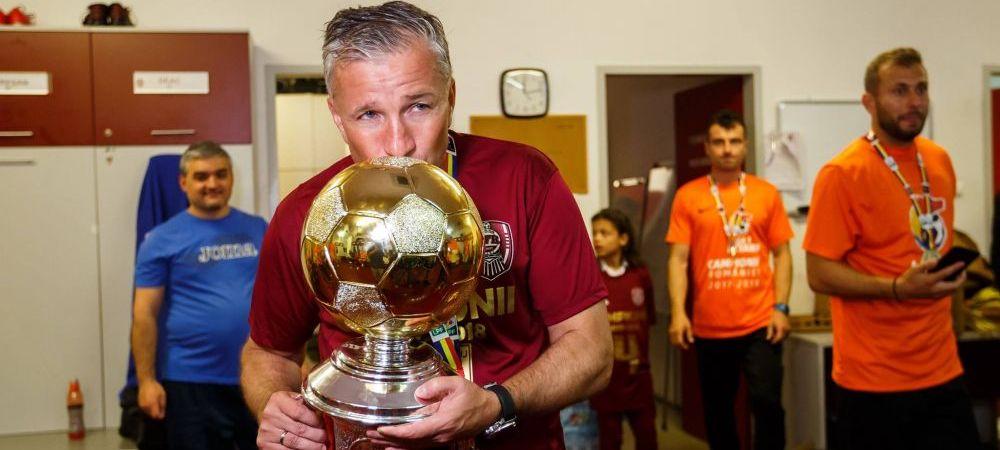 """Dan Petrescu, gata sa ia in China jucatori de la CFR Cluj: """"Ar vrea 5-6 jucatori daca ar putea!"""" Motivul pentru care nu este posibil acest lucru"""