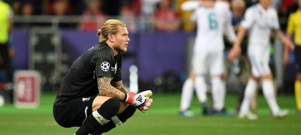 Nemtii de la BILD i-au modificat ratingul pentru Karius de la finala UEFA Champions League! Cum au motivat decizia