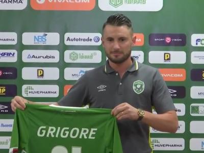 Dragos Grigore, prezentat oficial la Ludogorets! Fundasul revine in Europa si viseaza la nationala