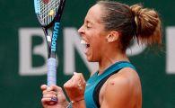 Madison Keys, victorie ISTORICA la Roland Garros! Ii calca pe urme Serenei cu calificarea in semifinale. Prima reactie