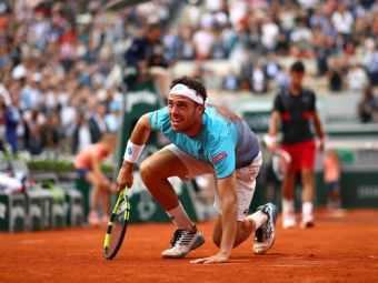 Povestea nestiuta a celui care l-a scos pe Djokovic de la Roland Garros. Marco Cecchinato era INTERZIS in tenis in urma cu doi ani