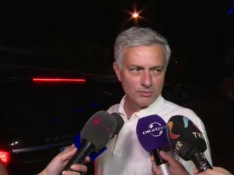 "VIDEO | Mourinho a vorbit dupa victoria Romaniei! De ce a venit la meci si romanul ""pe care o sa-l poarte toata viata in inima"""