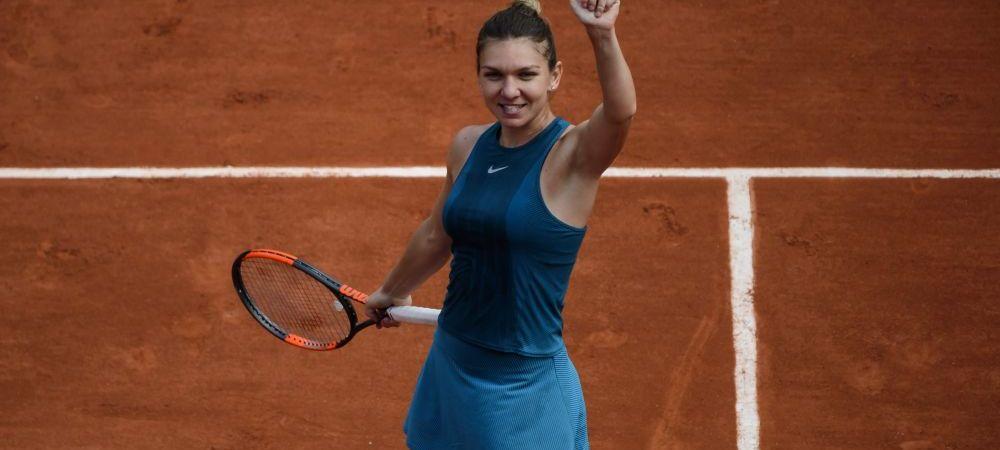 """Moment FANTASTIC pentru Romania! Ce s-a intamplat pe teren inainte de Halep - Kerber la Roland Garros: """"Era visul meu de mica!"""" FOTO"""