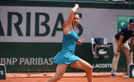 SIMONA HALEP - GARBINE MUGURUZA | Simona a ajuns la PLAY OF THE DAY! Lovitura turneului de pana acum! VIDEO