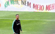 """Promisiunea lui Cristiano Ronaldo in fata presedintelui Portugaliei: """"Vom da totul! Nimic nu e imposibil si vom lupta pana la final!"""""""