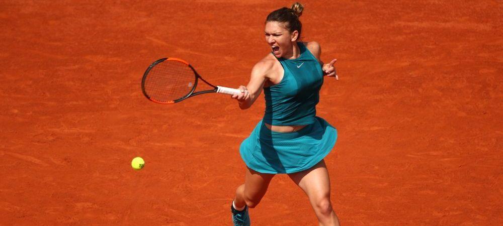 Simona Halep a reusit MECIUL CARIEREI in semifinala cu Muguruza! Halep, mai buna decat Nadal: lovituri DEVASTATOARE ale liderului mondial