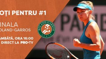 """O sa dau TOTUL in finala!"" Simona, cel mai bun meci de la Roland Garros! Ce spune despre adversara de sambata"