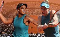 """""""Anul trecut a fost distractiv!"""" Ce facea Sloane Stephens in timpul finalei PIERDUTE anul trecut de Halep la Roland Garros"""