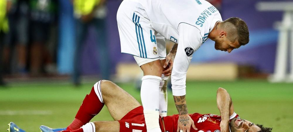 "Salah vrea REVANSA in fata lui Sergio Ramos chiar la Mondial: ""Asta imi doresc sa se intample!"" Ce a spus despre accidentare"