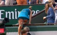 MOMENT COPLESITOR la Paris! CAMPIOANA urca in tribuna sa-si imbratiseze parintii. BRAVO, SIMONA! | VIDEO