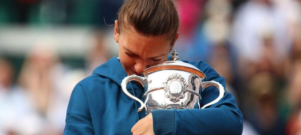 SUMA IMPRESIONANTA care intra in contul Simonei Halep dupa victoria SENZATIONALA de la Roland Garros. Romanca, intr-un TOP select al tenisului feminin