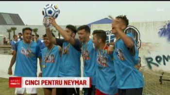 Romanii vor TITLUL MONDIAL din mainile lui Neymar. Cine va juca pentru Romania la Mondialul 5 la 5