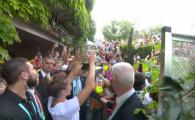 VIDEO! Gestul senzational al antrenorului lui Sloane Stephens! Ce a facut cand Simona sarbatorea cu trofeul Roland Garros