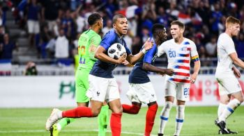 Franta, salvata de Mbappe de la infrangere in ultimul meci inainte de Mondial! SUA nu mai marcase niciodata in fata francezilor