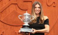 A avut loc sedinta foto a Simonei Halep cu trofeul Roland Garros! Cum s-a imbracat Simona la eveniment FOTO
