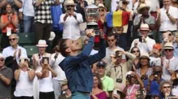 """""""Nici nu pot sa descriu cat de fericita sunt!"""" Mesajul Simonei Halep dupa victoria de la Roland Garros! Mesajele care au facut-o sa planga"""