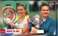 Imagini de SENZATIE! Cum arata Simona Halep acum 10 ani, dupa victoria de la Roland Garros