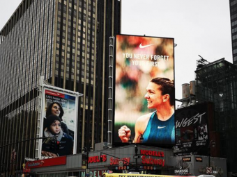 VICTORIA Simonei Halep a ajuns pana la New York. Ce s-a vazut in Madison Square Garden