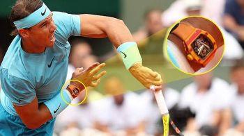 """Nadal a castigat Roland Garros cu un ceas de 620.000 de euro la mana: """"E parte din pielea mea!"""" FOTO"""