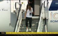 Surpriza de la venirea Simonei Halep in Romania! Cine a asteptat-o langa avion si cum arata trofeul primit