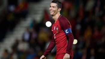 RECORDUL lui Ronaldo! Avantajul portughezului in cursa pentru cucerirea Campionatului Mondial din Rusia