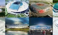 Cupa Mondiala 2018. Cele 12 stadioane pe care se joaca la Mondial. Rusii au investit 11 MILIARDE de dolari