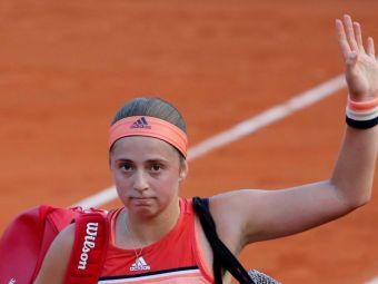 Ostapenko si-a CONCEDIAT antrenorul dupa RUSINEA de la Roland Garros! Il angajase de doar 6 luni!