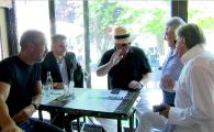 """VIDEO: Faza colosala! Dragomir: """"Cum stam noi de vorba cu puscariasii astia?!"""" Mihai Stoica, Ioan Becali si Borcea Jr erau la masa"""