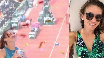 """""""Viata frumoasa ACASA!"""" Cum se relaxeaza Simona Halep dupa ce a castigat Roland Garros 2018! FOTO"""