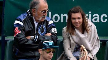"""Ion Tiriac o compara pe Simona Halep cu Nadal: """"E gata sa moara pe teren daca e nevoie!"""""""