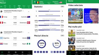 Sport.ro a lansat o noua aplicatie! Sectiune dedicata Cupei Mondiale, video la super calitate cea mai tare sectiune de livescores