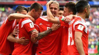 RUSIA - ARABIA SAUDITA 5-0, deschiderea Cupei Mondiale 2018! SPECTACOL DE MONDIALE...pe final! Rusia a marcat 3 goluri in repriza a doua VIDEO