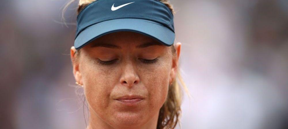 """O noua LOVITURA pentru Sharapova: """"Din pacate, trebuie sa fac asta!"""" Anuntul rusoaicei"""