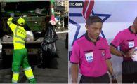 Povestea incredibila a ARBITRULUI GUNOIER de la Mondial! 25 de ani a curatat orasul in care traieste, acum va sta cu ochii pe Neymar si Griezmann