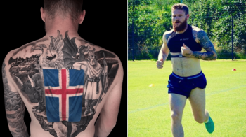 VIN VIKINGII! Capitanul Islandei si-a facut un tatuaj bestial inaintea primei participari la Campionatul Mondial: FOTO