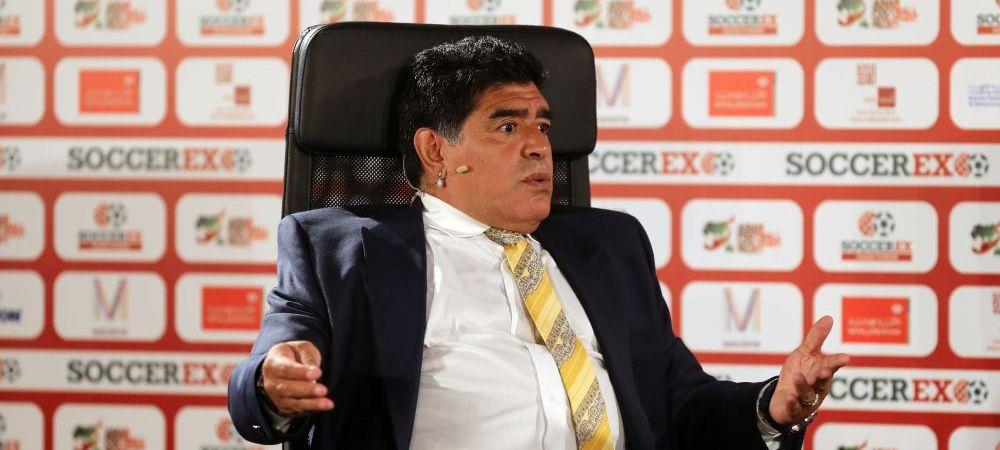 """Diego Maradona, cuvinte dure dupa demiterea lui Lopetegui: """"Aici nu e vorba numai de echipa, s-a jucat cu iluziile unor oameni"""""""