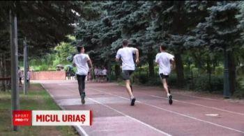 """""""Ghita Muresan"""" de la atletism :) Colegii il trimit la baschet pe fiul fostului arbitru Cristi Nica"""